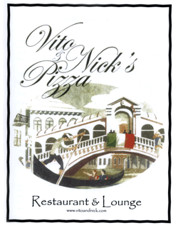 Vito and Nick's Menu PDF